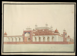 Mausoleum of Akbar, Sikandra 1748